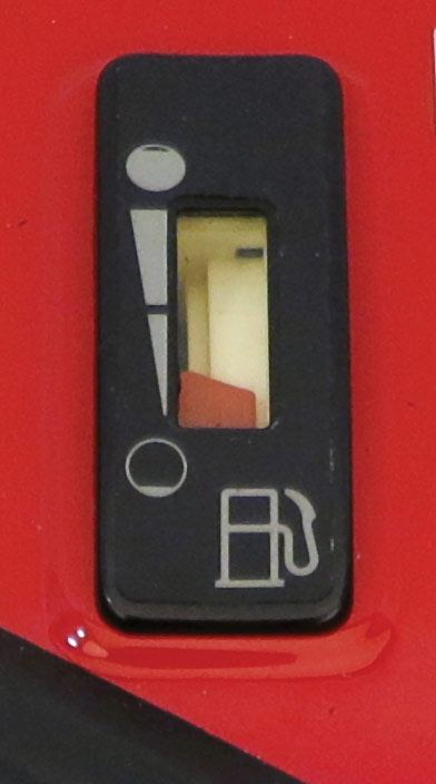 Fuel Gauge with Fuel