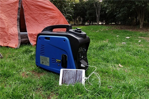 Gasoline Inverter Generator with Tent