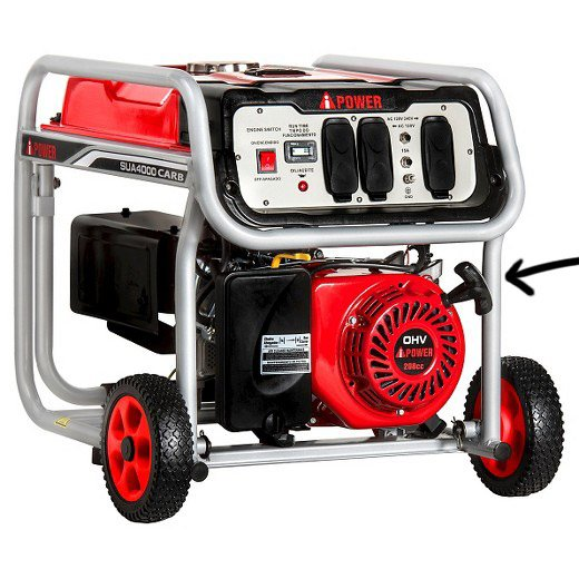 Manual Starter for Portable Generators