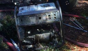 Burned Portable
