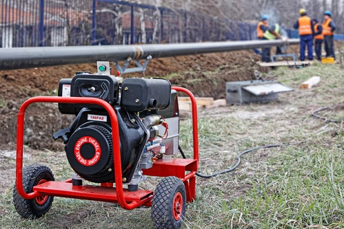 Using Portable Generator On Work Site