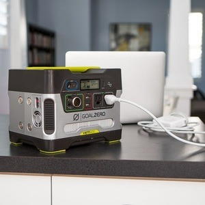 Portable Generator On Counter